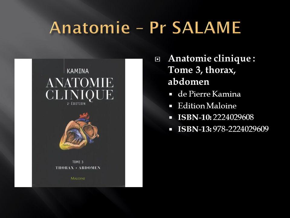 Anatomie, tome 2 : L appareil locomoteur De Jean-Marc Chevallier Edition : Flammarion Médecine ISBN-10: 2257101286 ISBN-13: 978-2257101280