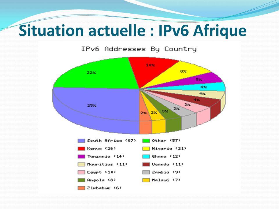 Situation actuelle : IPv6 Afrique