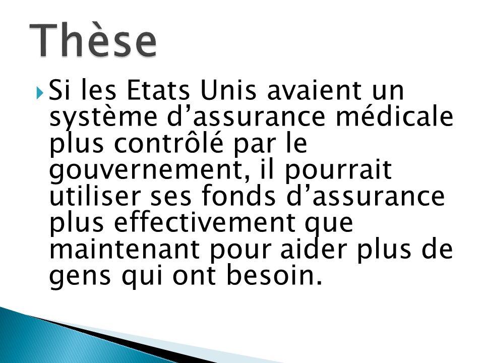 Depuis 2000, tous les citoyens de France sont guarantiés dassurance medical CMU couvrit presque 5 million français, 8% de la population