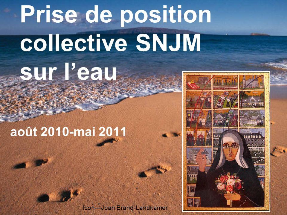 Prise de position collective SNJM sur leau août 2010-mai 2011 IconJoan Brand-Landkamer