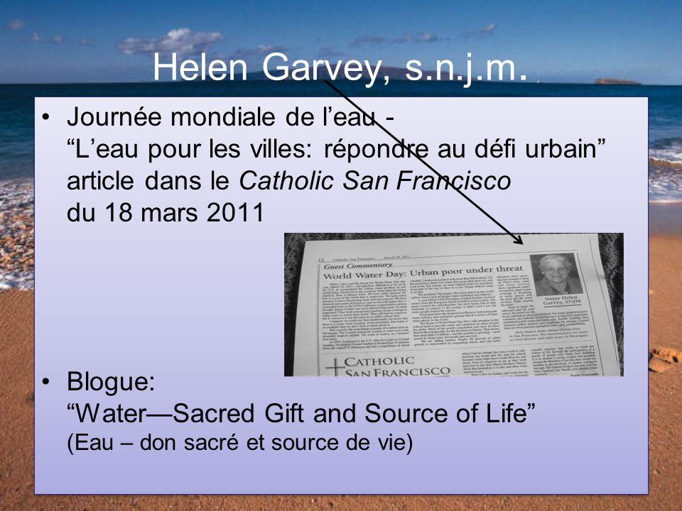 Helen Garvey, s.n.j.m.