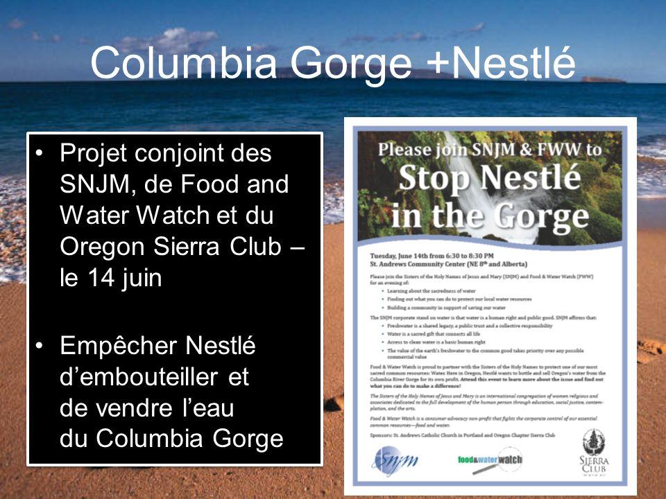 Columbia Gorge +Nestlé