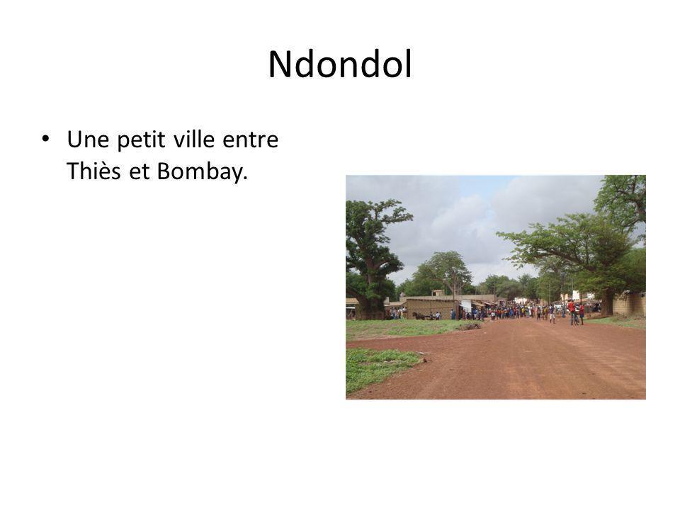 Ndondol Une petit ville entre Thiès et Bombay.