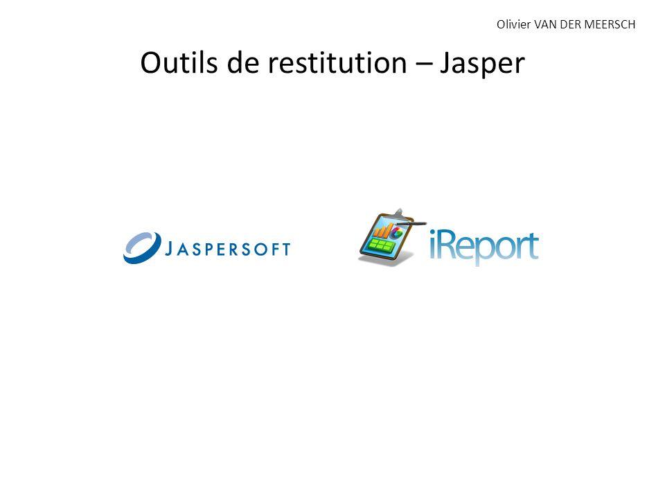 Outils de restitution – Jasper Olivier VAN DER MEERSCH