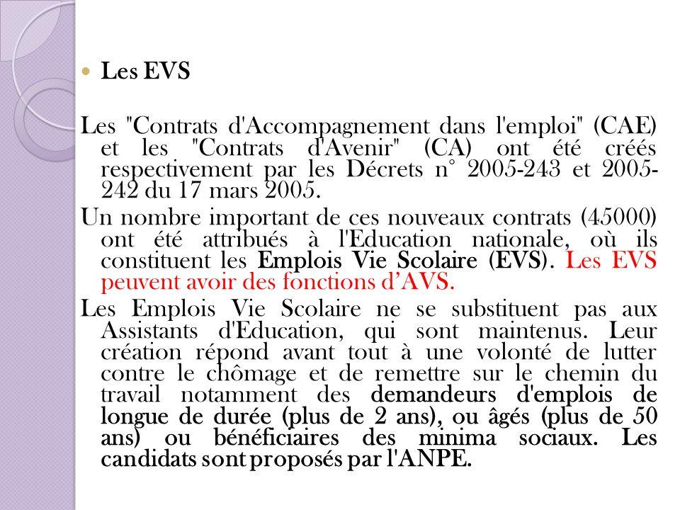 Les EVS Les