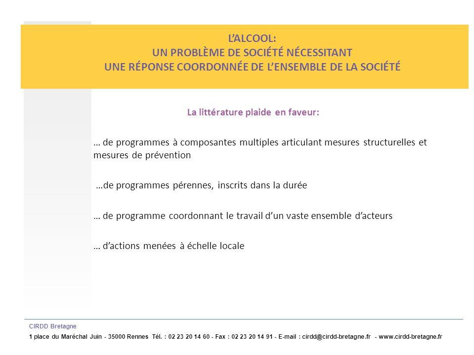 http://www.cirdd-bretagne.fr CIRDD Bretagne 1 place du Maréchal Juin - 35000 Rennes Tél.