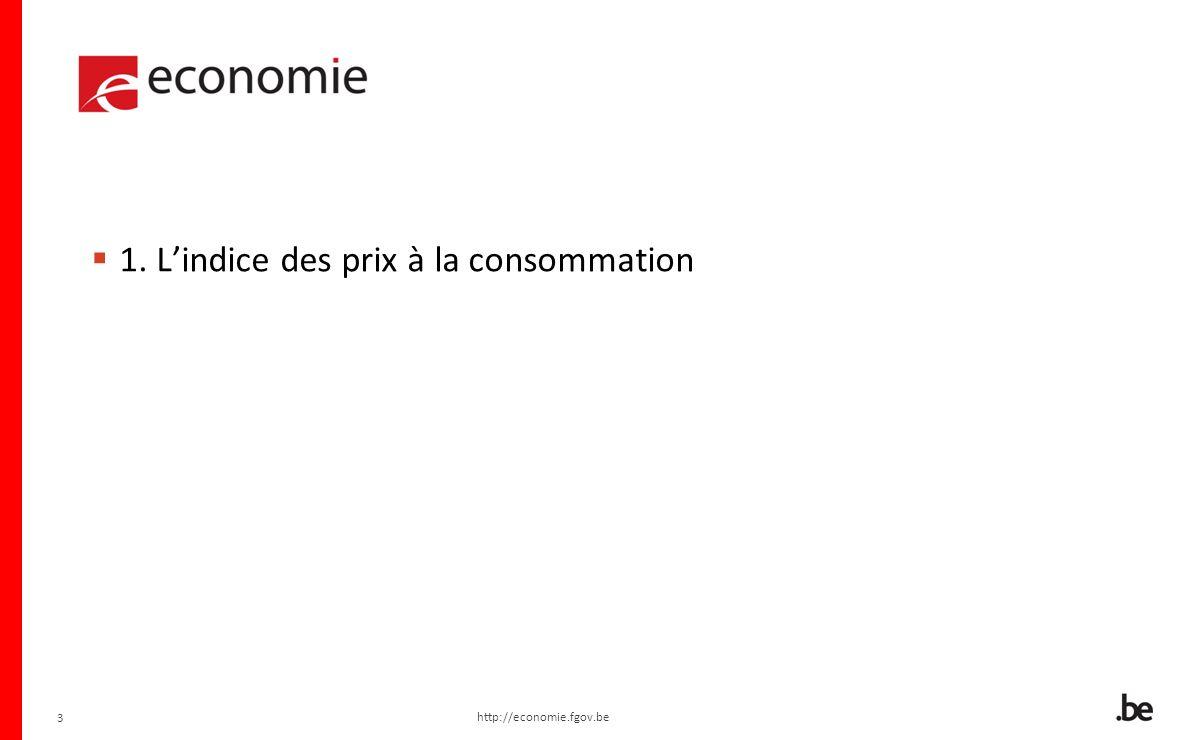 14 2. INDEXATION AUTOMATIQUE http://economie.fgov.be 14