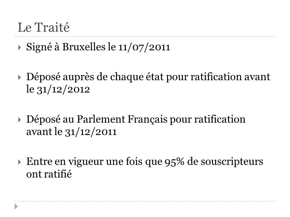 Chapitre 1.Dispositions communes Le Traité établit le Mécanisme Européen de Stabilité [art.