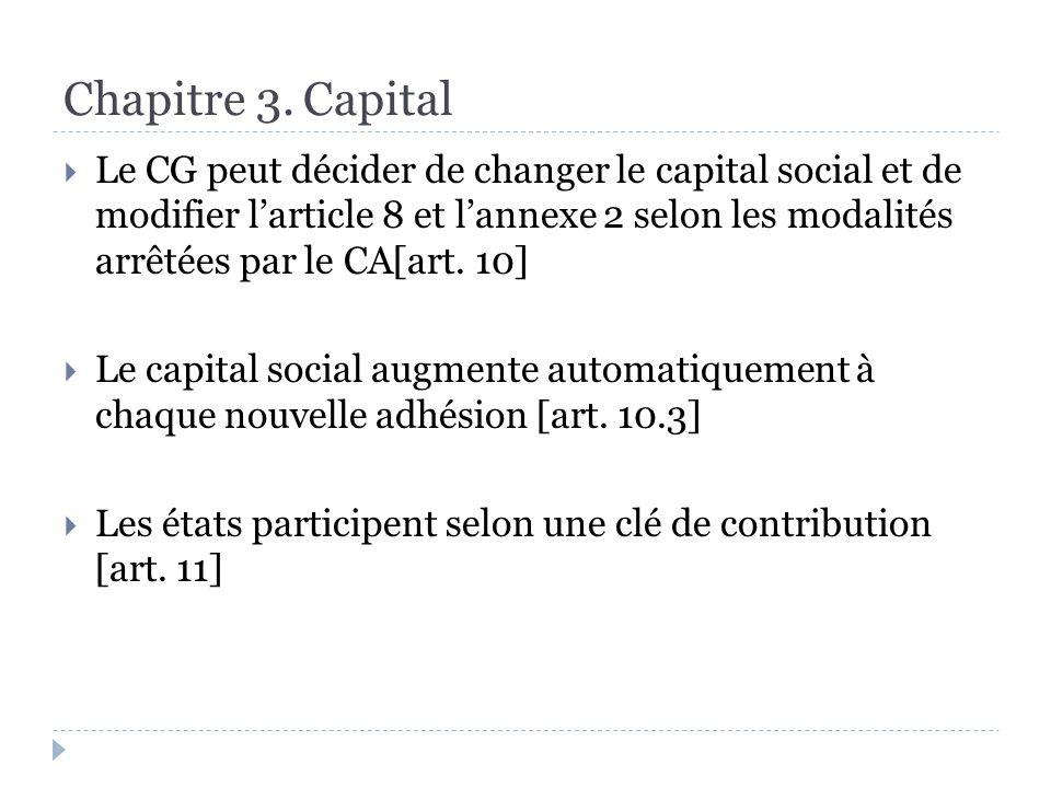 Chapitre 6.Dispositions générales et juridiques Le MES a son siège au Luxembourg [art.