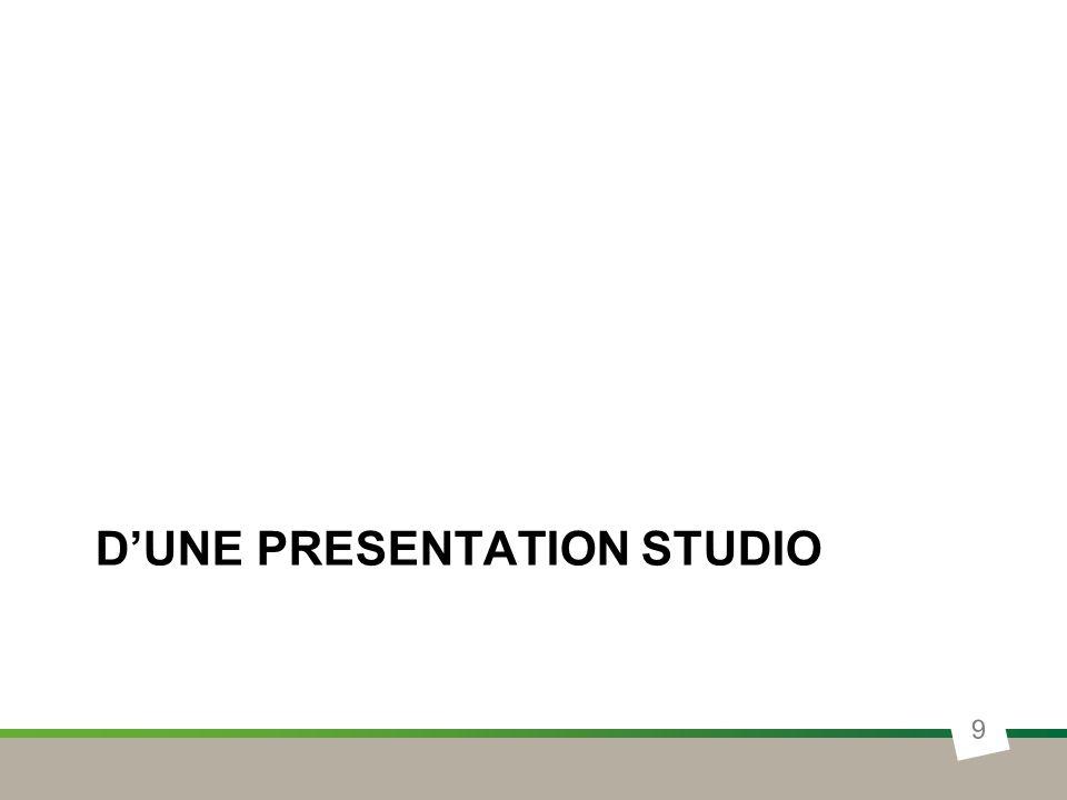 DUNE PRESENTATION STUDIO 9