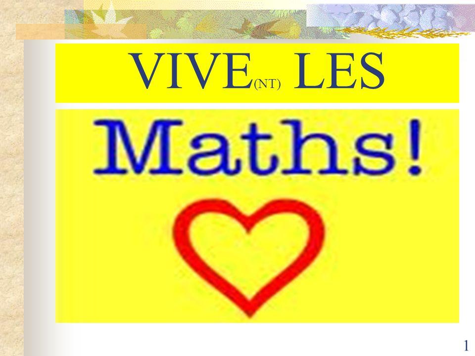 2 Atelier mathématiques Menu de la matinée