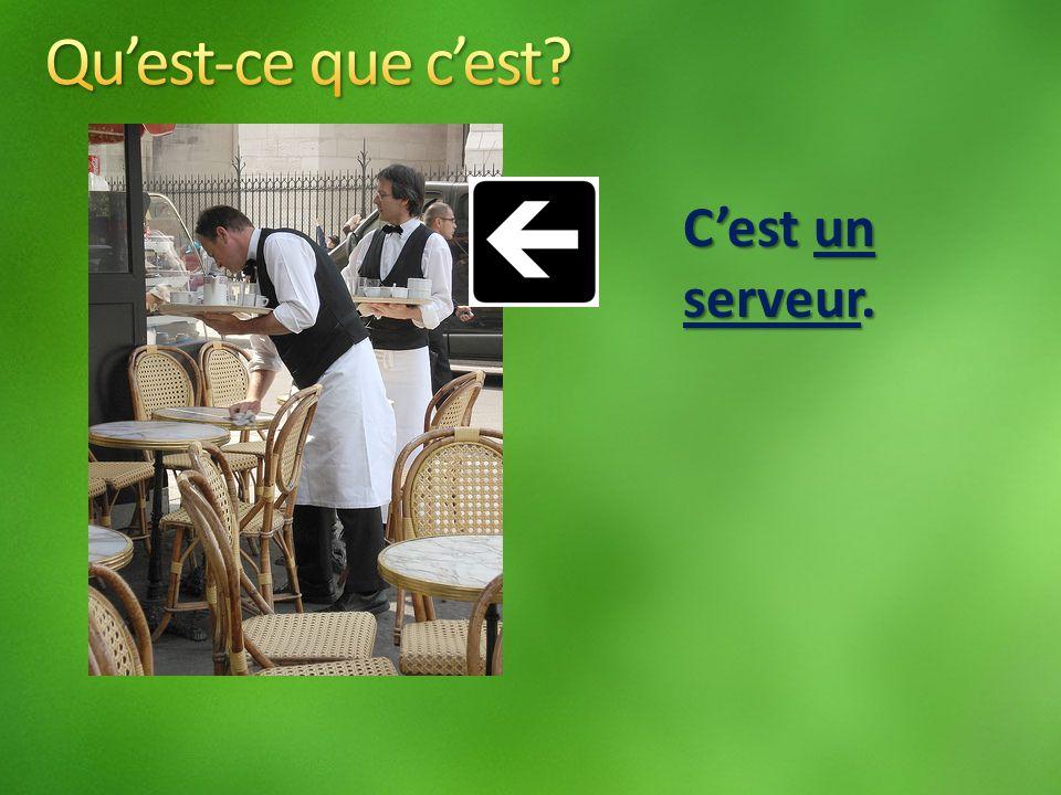 Cest un serveur.
