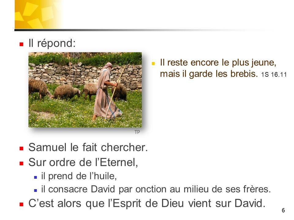David apprend quAdonijà sest autoproclamé roi.