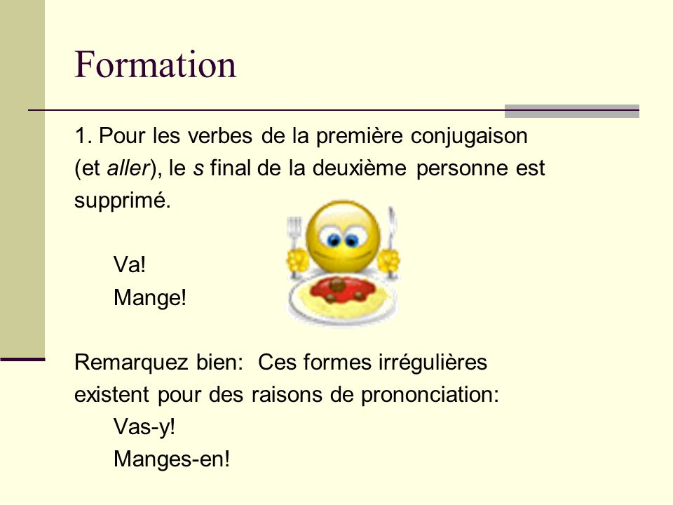 Formation 1.