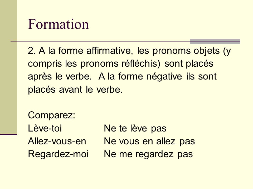 Formation 2.