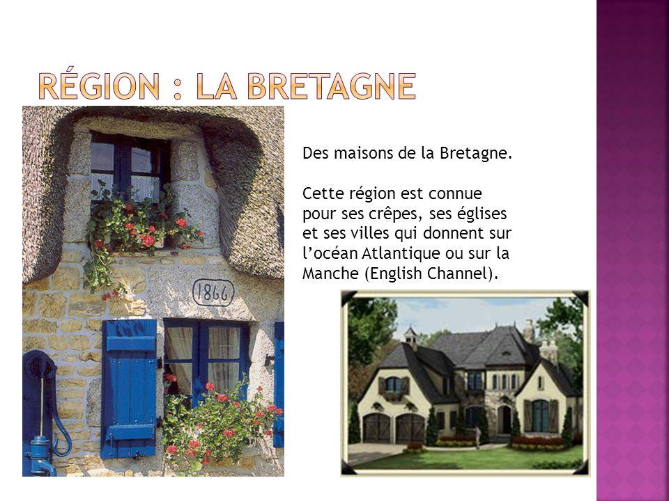 Des maisons de la Bretagne.