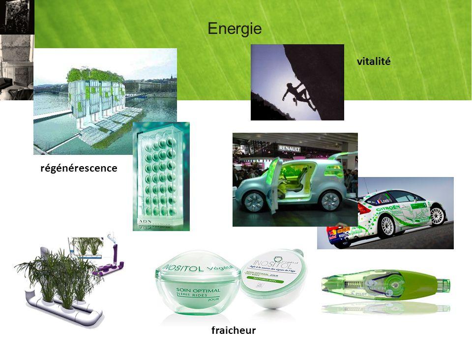 Energie régénérescence vitalité fraicheur
