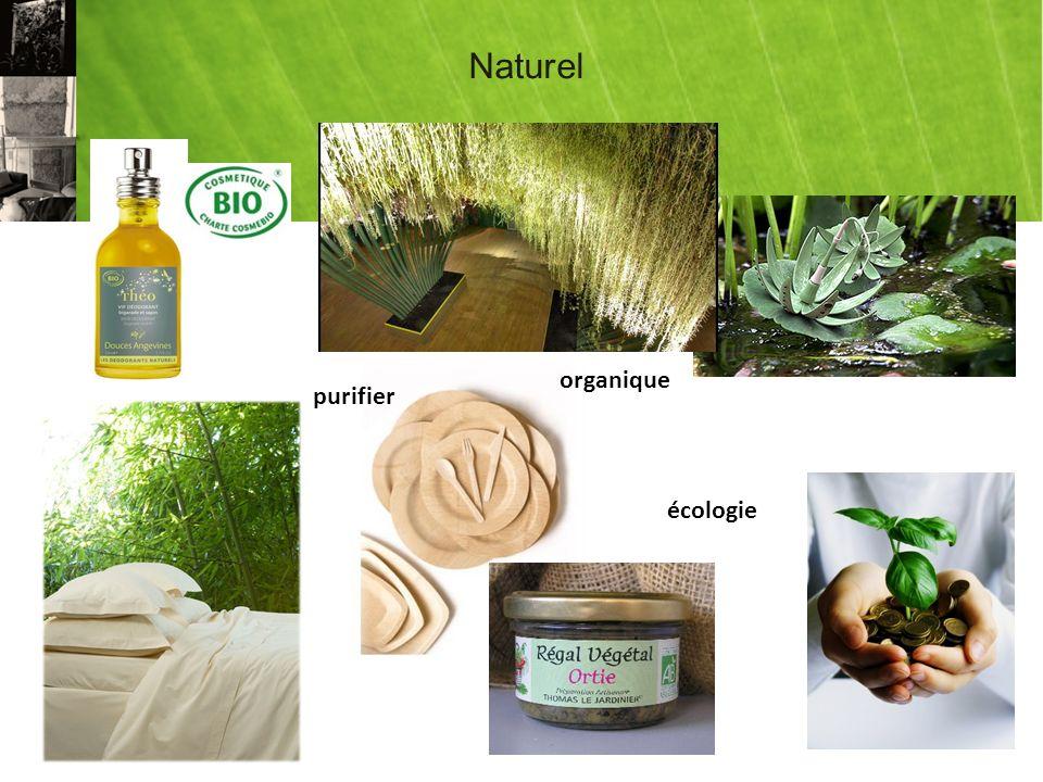 Naturel organique écologie purifier