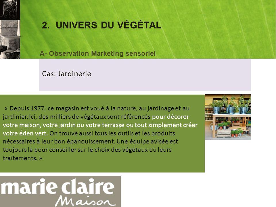 2.UNIVERS DU VÉGÉTAL Botanic® propose dans sa rubrique « actus et produits » des plantes dintérieur aux vertus dépolluantes.