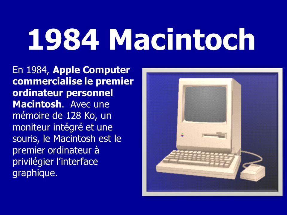 Le premier PC dIBM était un système à disquette utilisant le microprocesseur 8088 dIntel.