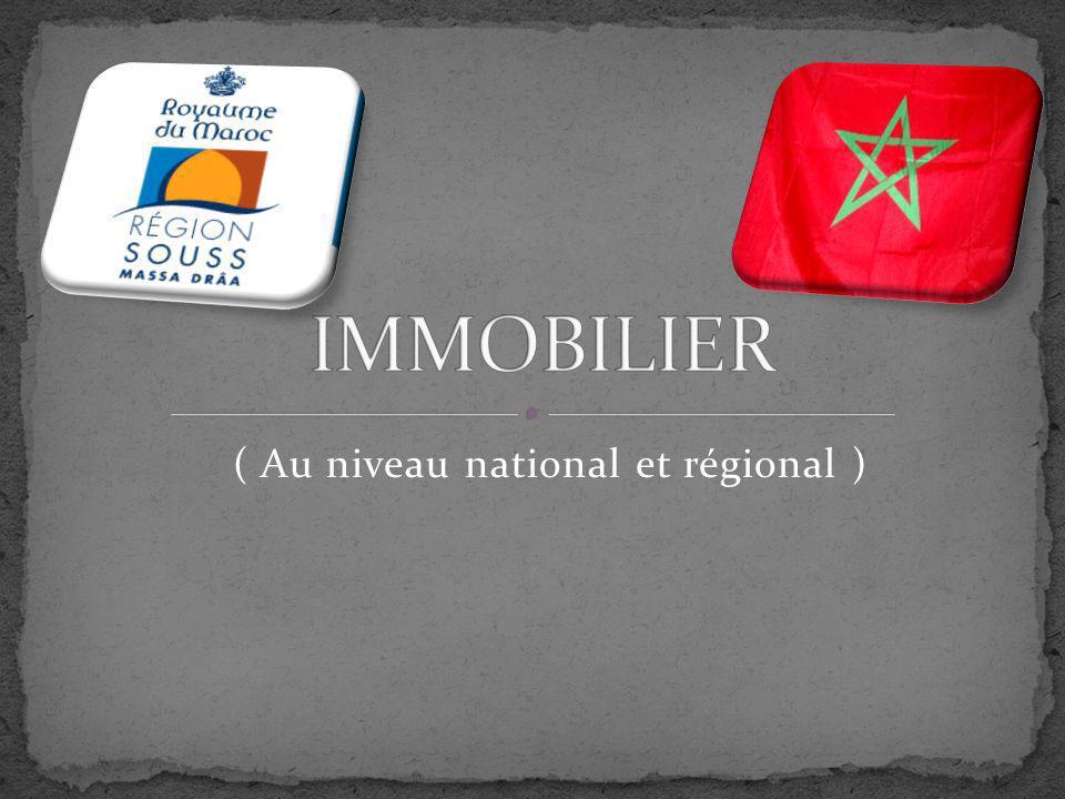 ( Au niveau national et régional )