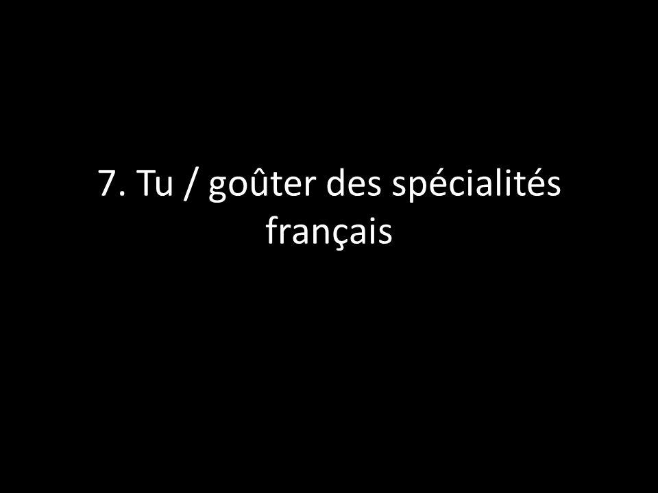 8. Les filles / écouter des CD français