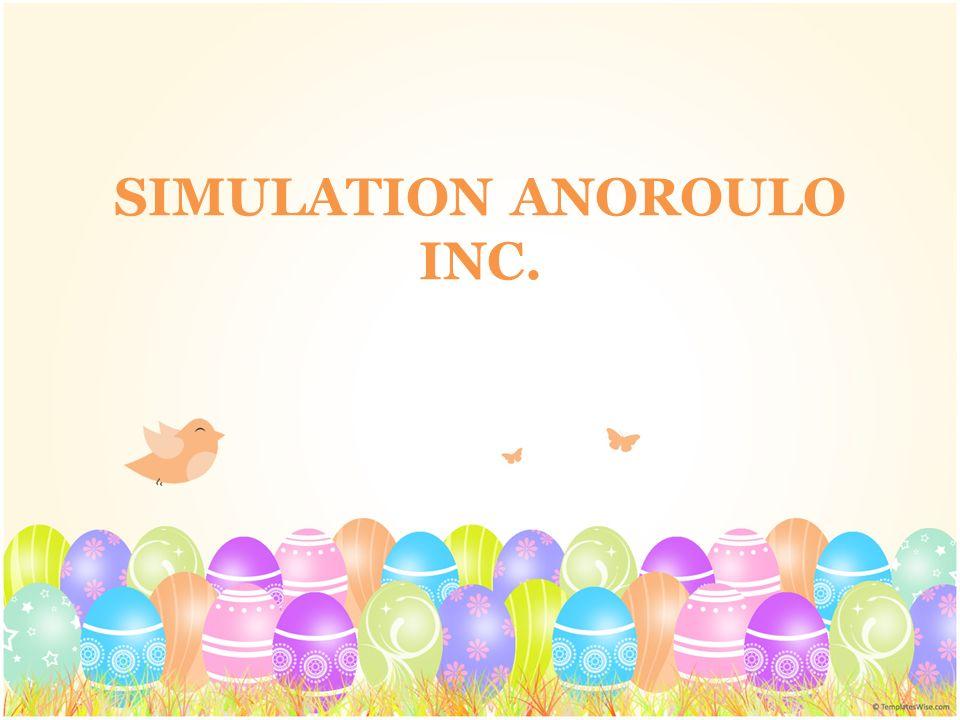 La simulation se fait en partie manuellement et en partie à lordinateur.