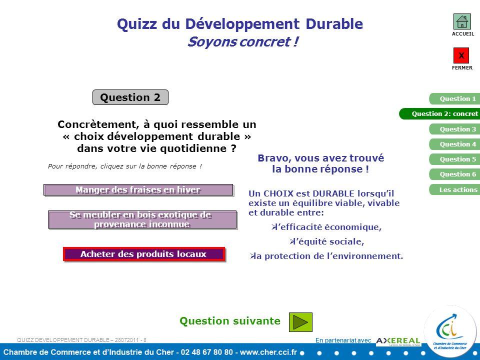 En partenariat avec Quizz du Développement Durable Empreinte écologique Quest ce que lempreinte écologique .