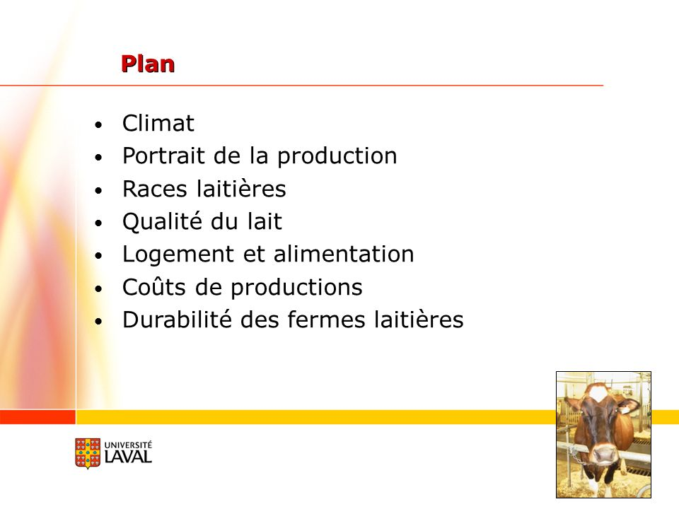 Programme daccréditation de type HACCP (analyse des risques et maîtrise des points critiques) Débuter en 2003 Départ: volontaire avec des primes pour les adhérents Maintenant (automne 2013): pénalités pour les réfractaires Programme Lait canadien de qualité FPLQ, 2013