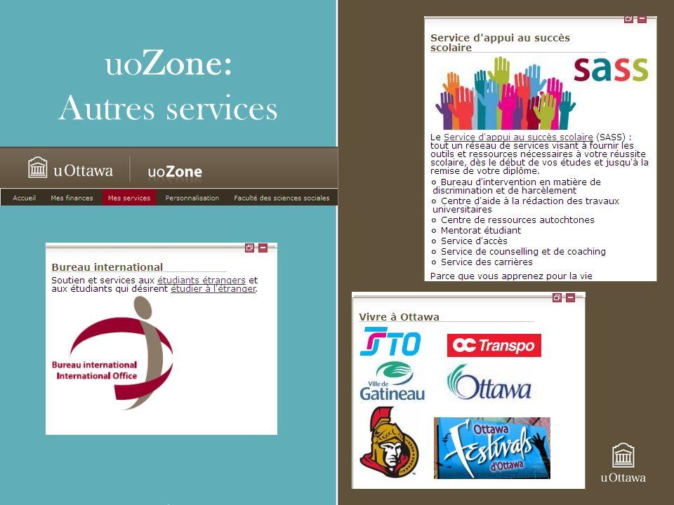 uoZone: Autres services