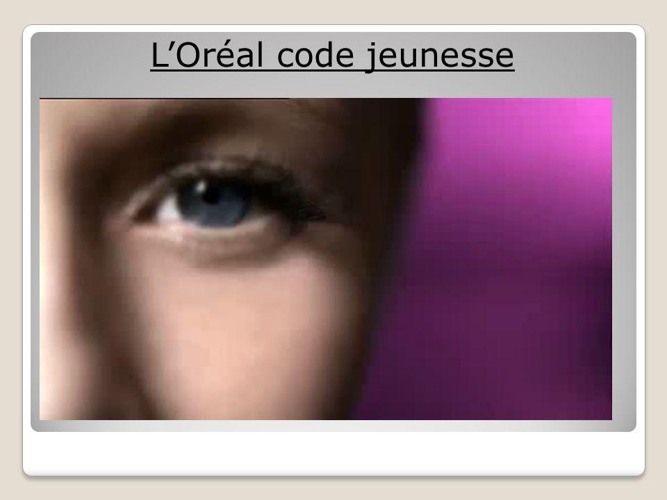 LOréal code jeunesse