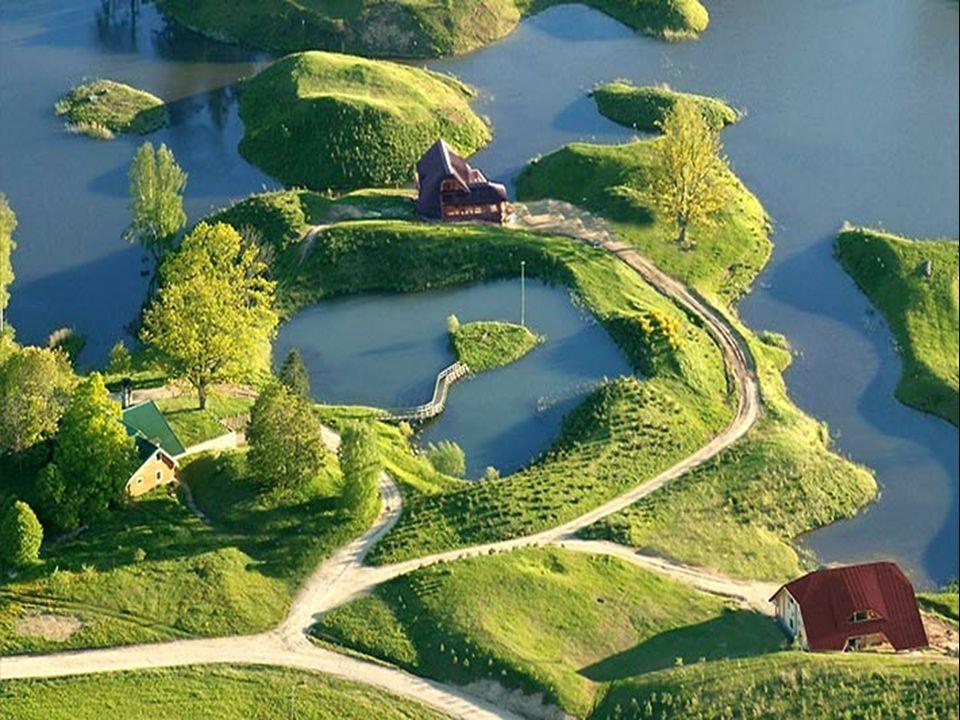 A Amatciems il ny a que des réserves naturelles d eau douce : étangs, lacs et ruisseaux.