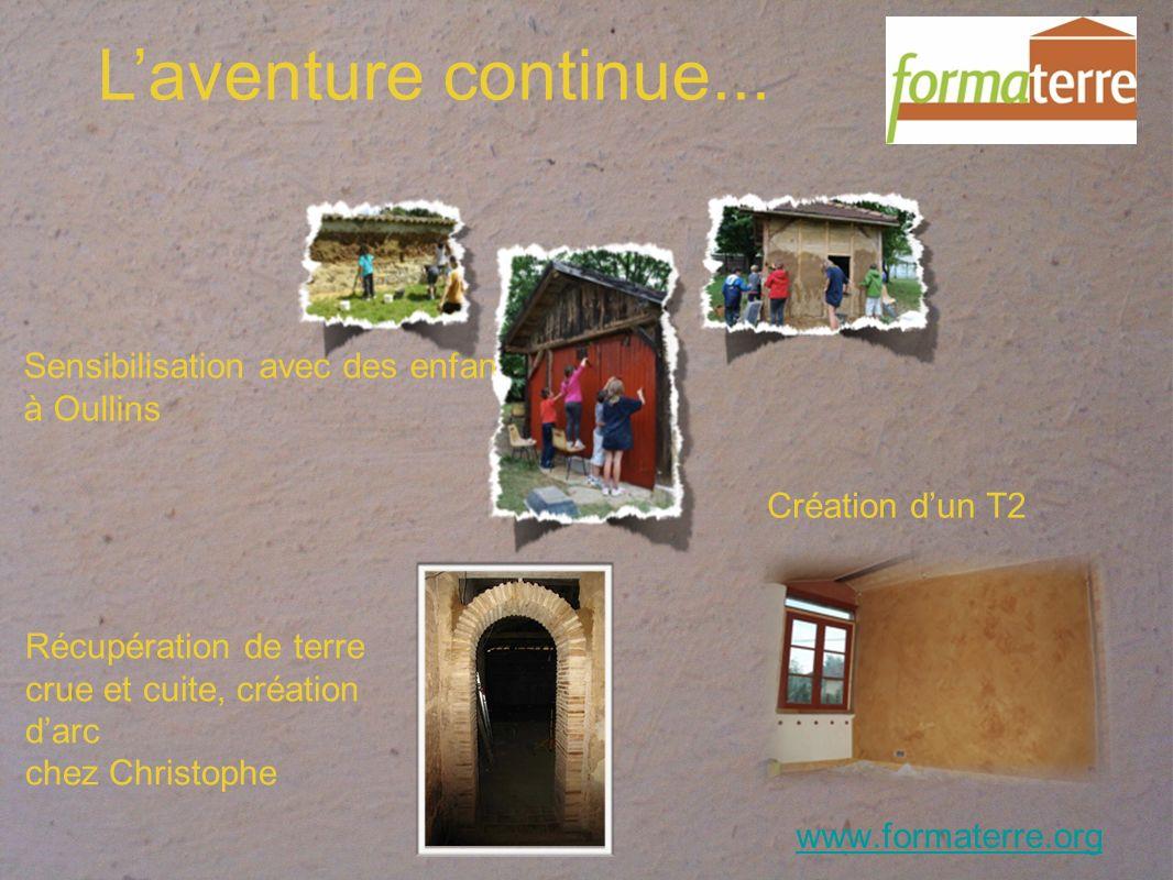 www.formaterre.org Laventure continue...