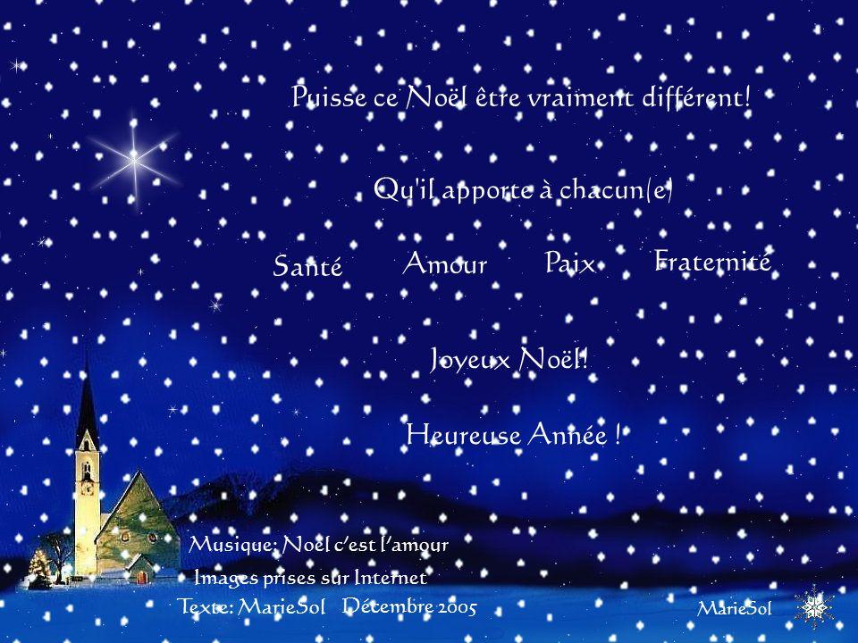 À Noël dernier nous pensions à la folie qui précède la fête de Noël. Cette année à Noël nous pensons à la signification réelle de la fête de Noël.
