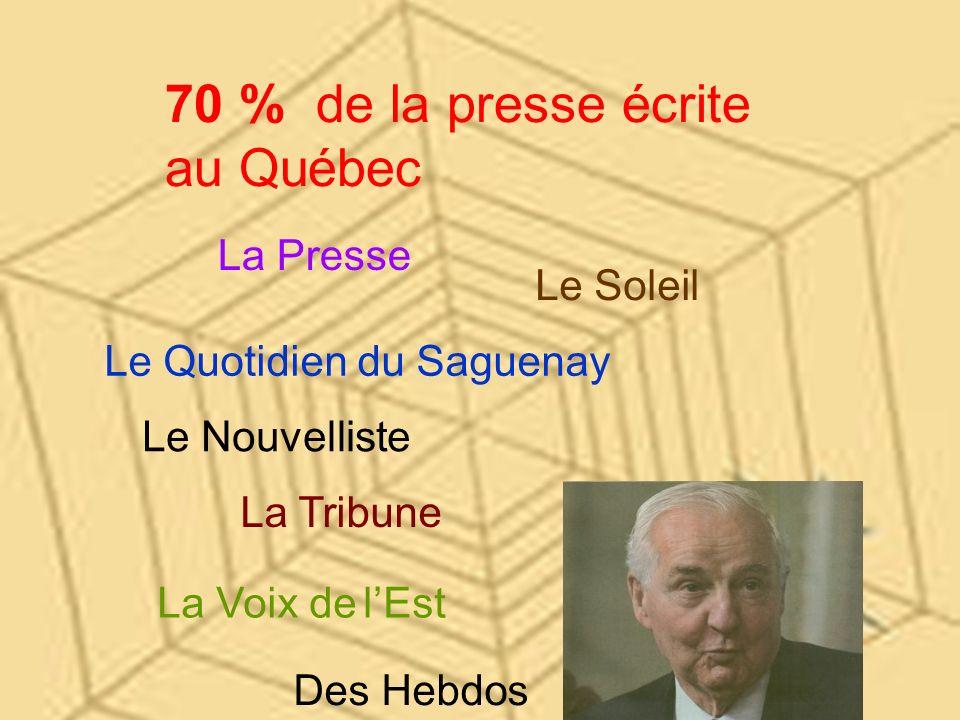 Pour obtenir la permission dacheter La Presse, Il promet que le journal restera à jamais indépendant des partis politiques.