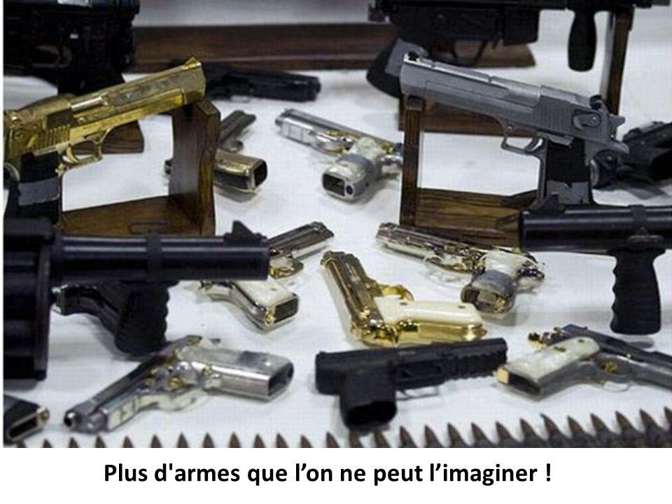 Plus d'armes que lon ne peut limaginer !