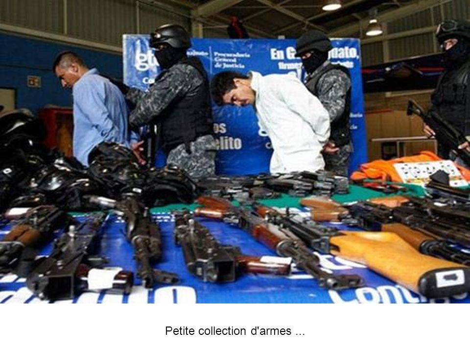 Petite collection d'armes...