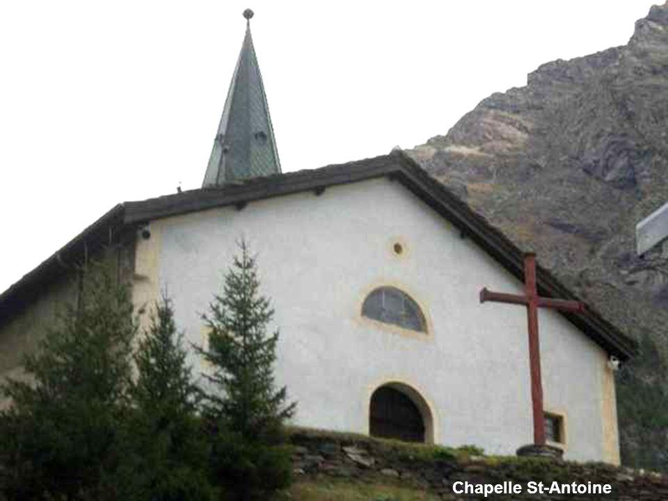 Bessans Eglise (XIIIè s. ?) et chapelle St-Antoine