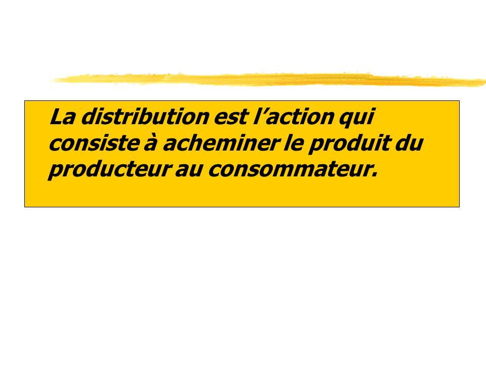 2. LE CANAL DE DISTRIBUTION.