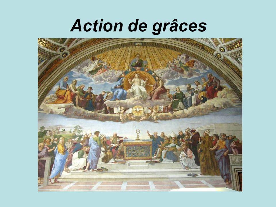 Action de grâces