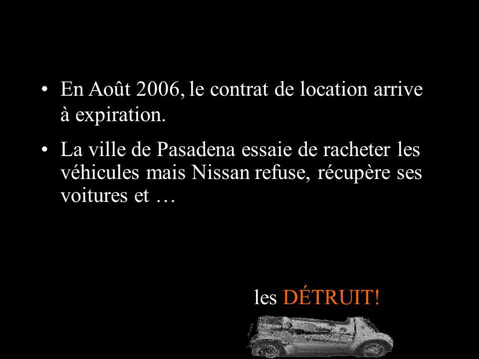 En 1997, Nissan présente son modèle électrique Hypermini au salon de Tokyo. La ville californienne de Pasadena ladopte comme véhicule professionnel po