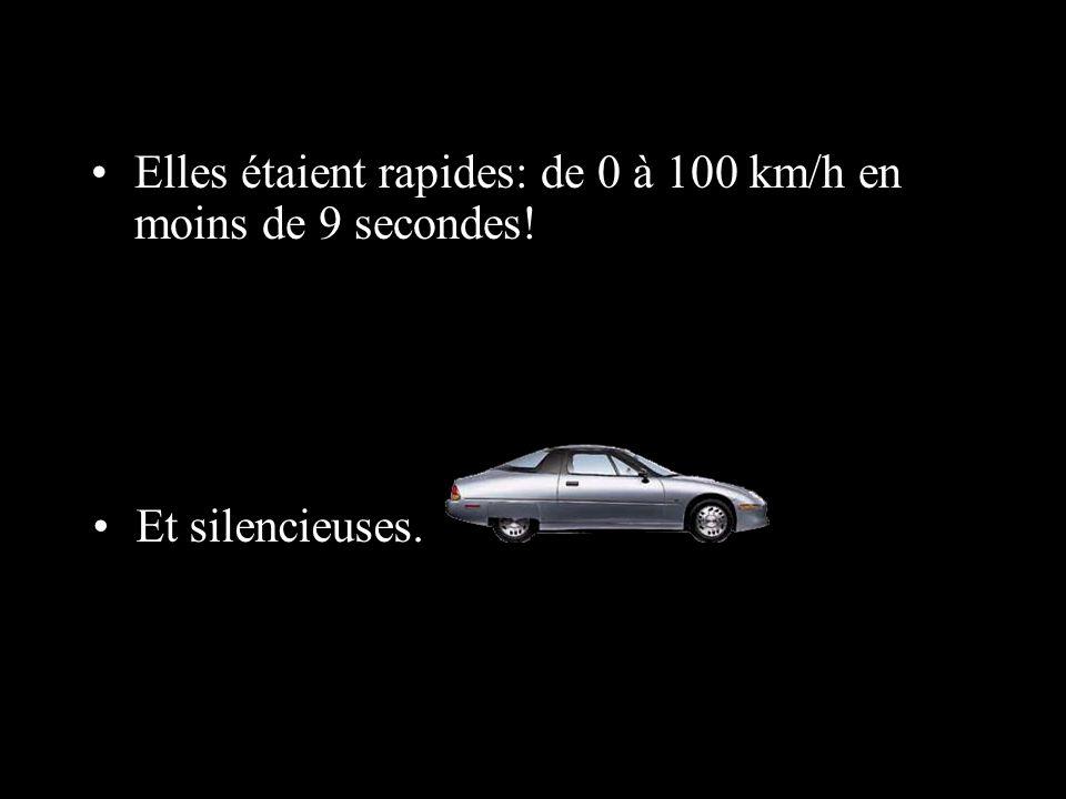 En 1996, les premières voitures électriques de série, les EV1, fabriquées par Général Motors, apparurent sur les routes californiennes.