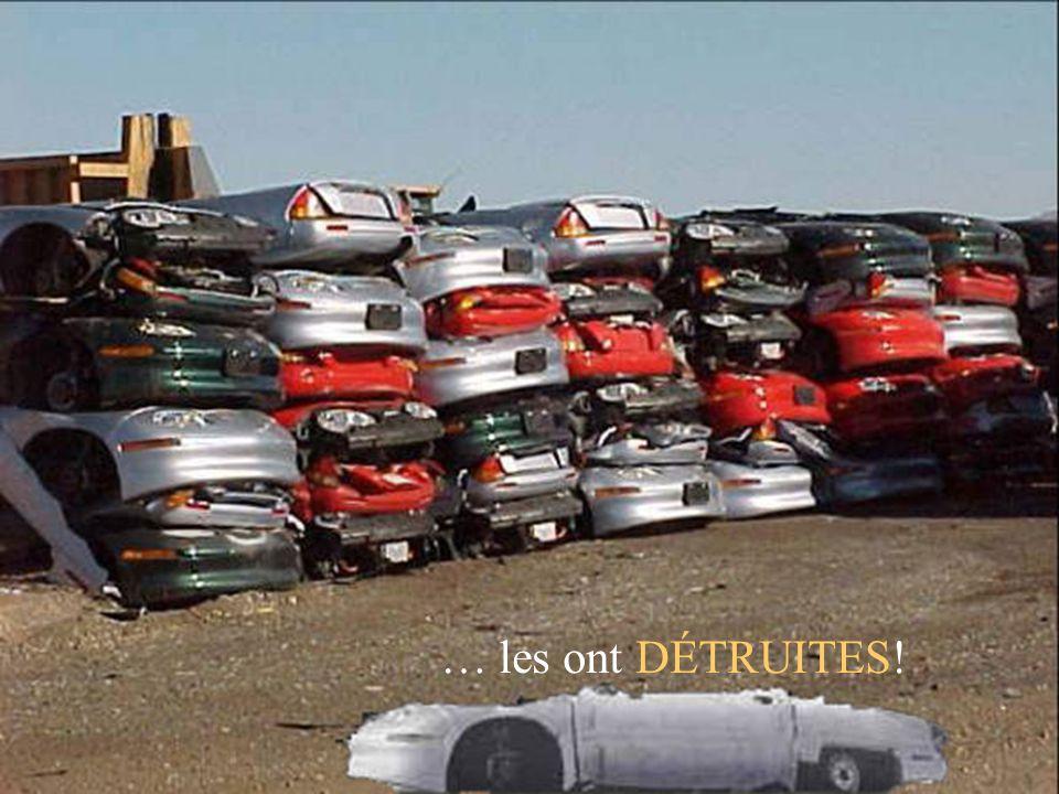 Comment est-ce possible? Dix ans plus tard, ces voitures du futur avaient complètement disparu! Tout dabord, elles ne pouvaient pas être achetées, mai