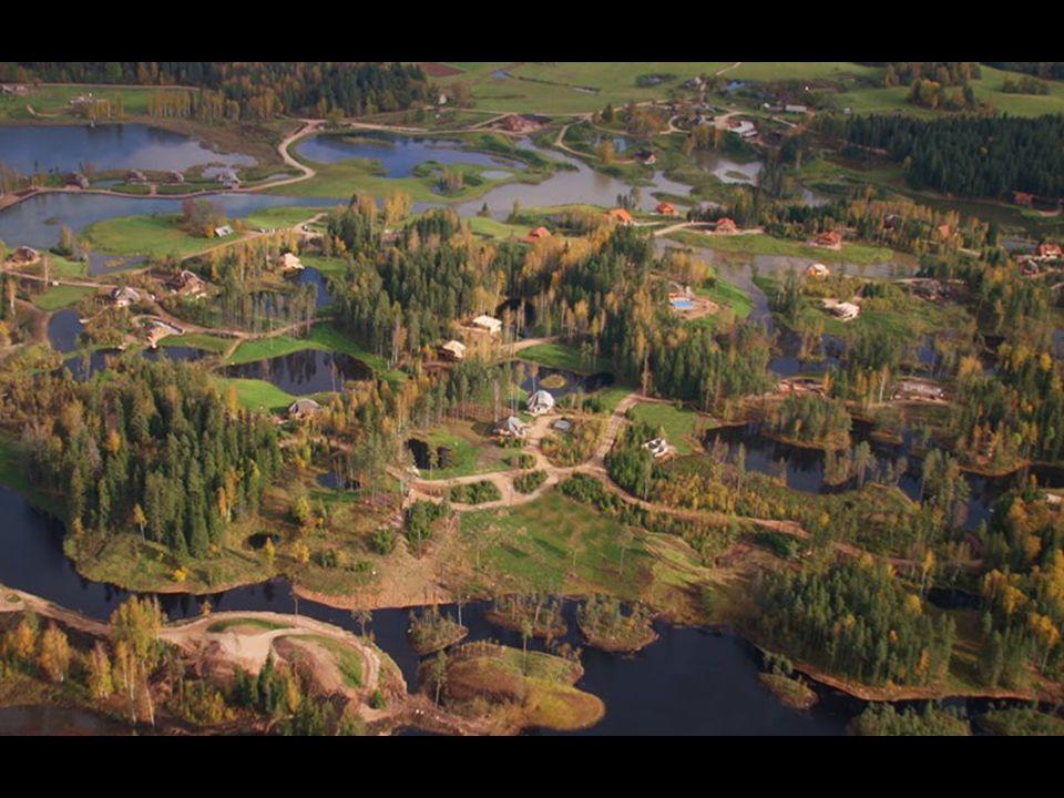 Amatciems est situé à 80 km de Riga, la capitale de la Lettonie. Si vous voulez acheter une maison dans un endroit isolé dans le monde, peu connu, c'e