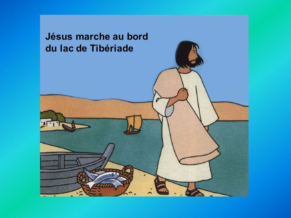 Quel appel? Un appel? Un jour… Jésus marche au bord du lac de Tibériade
