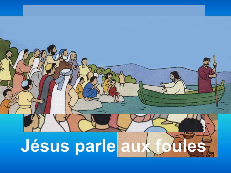 Jésus appelle Suis-moi Jésus parle aux foules