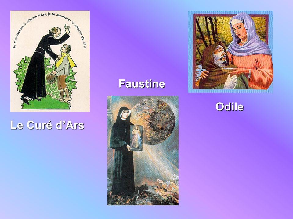 Le Curé dArs Faustine Odile