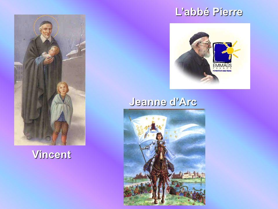 Vincent Jeanne dArc Labbé Pierre