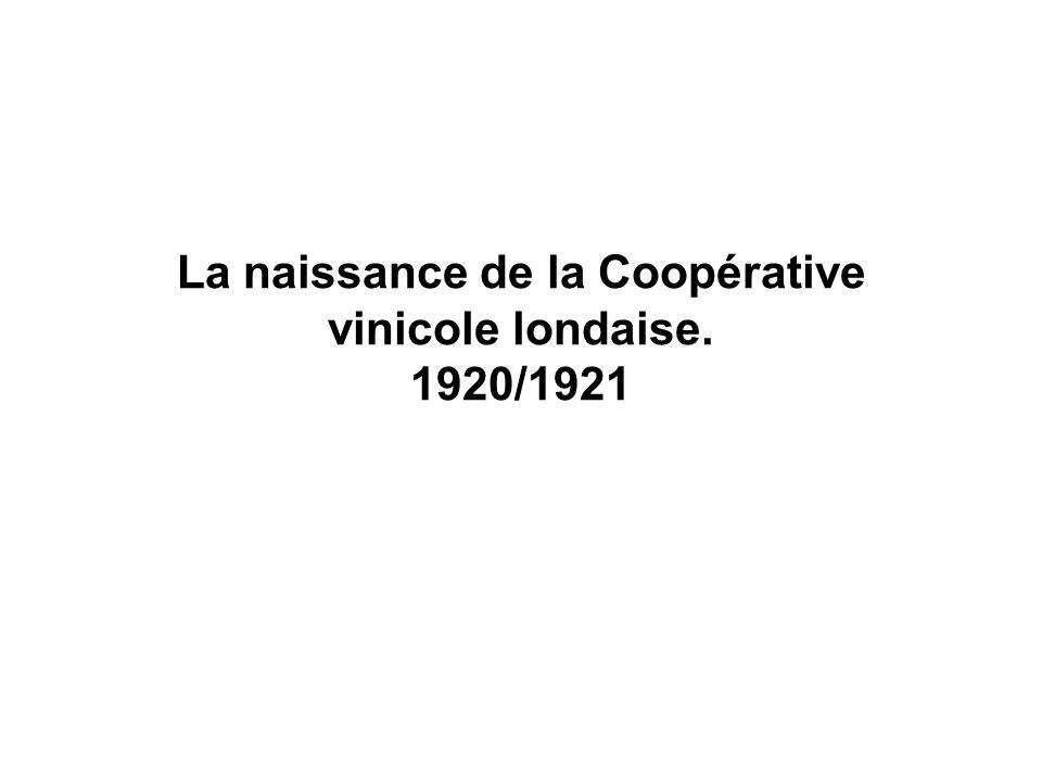Le contexte.Une calamité venue dAmérique : le phylloxéra (à partir de 1876 à La Londe).