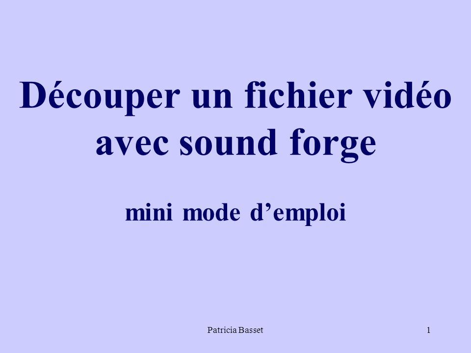 Patricia Basset22 Attention : ne pas cocher create an Open DML Et choisir video frames 320 x 240